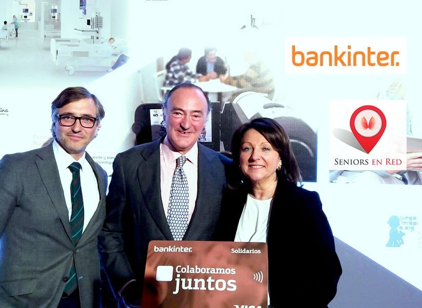 "Seniors en Red recibe el premio ""Visa solidaria"" de Bankinter"